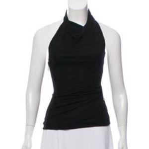 Gucci Halter Black sleeveless top XS